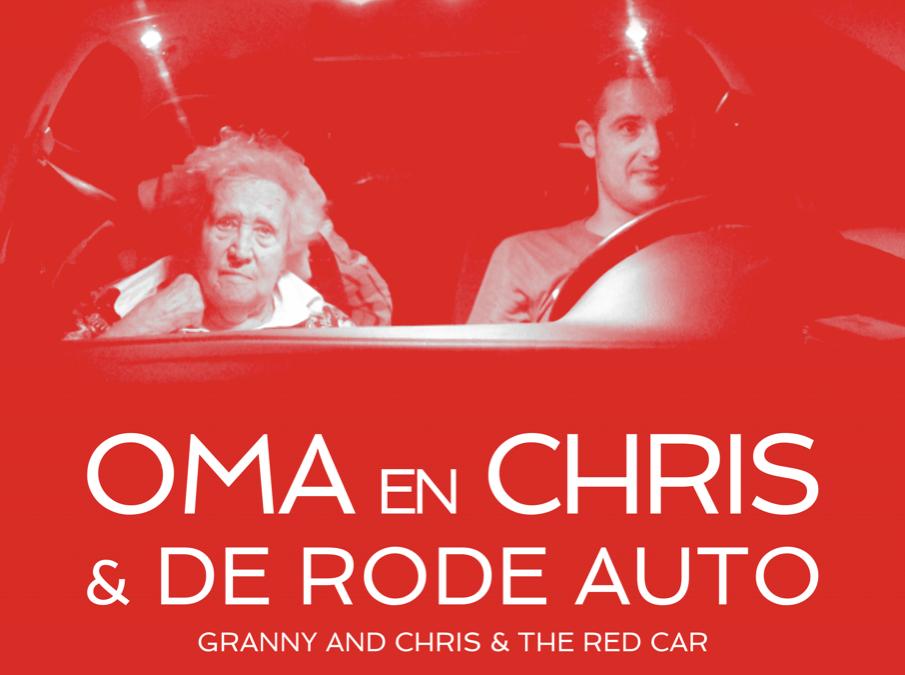 Oma en Chris & de rode auto